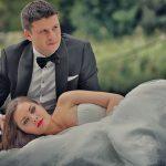 Fotografii nunta - trash the dress - Dragos si Anda - Ideal Event